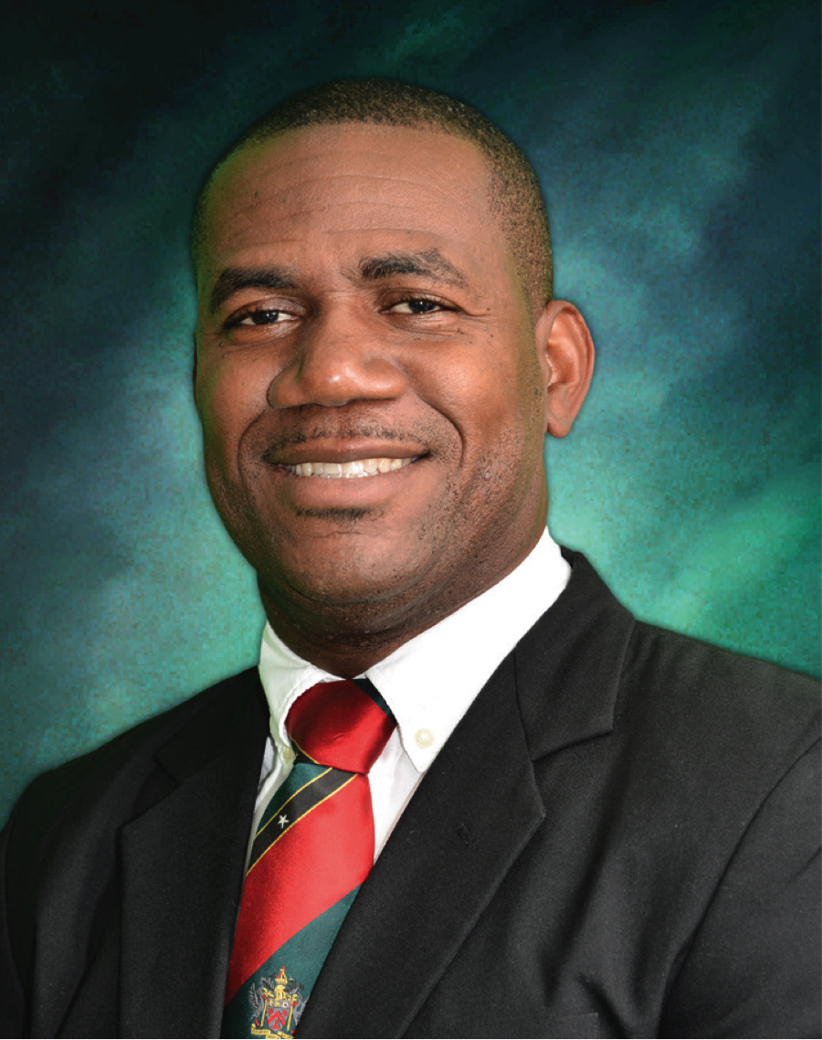 The Hon Shawn Kenneth Richards -  Deputy Prime Minister and Minister of Education, Youth, Sport and Culture