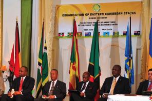 OECS signing ceremony