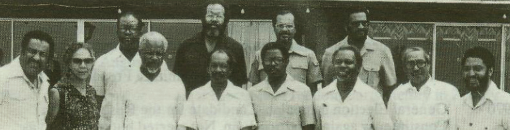 The birth of the OECS in Basseterre, St. Kitts, in June 1981.