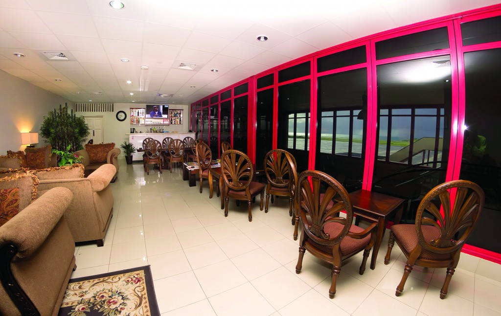 Executive Lounge at MBIA